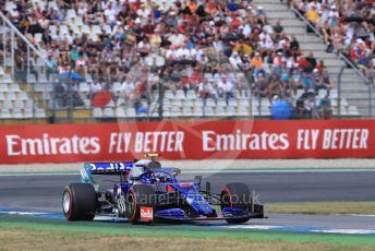 World © Octane Photographic Ltd. Formula 1 – German GP - Qualifying. Scuderia Toro Rosso STR14 – Alexander Albon. Hockenheimring, Hockenheim, Germany. Saturday 27th July 2019.