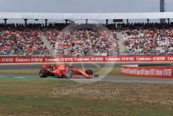 World © Octane Photographic Ltd. Formula 1 – German GP - Qualifying. Scuderia Ferrari SF90 – Charles Leclerc. Hockenheimring, Hockenheim, Germany. Saturday 27th July 2019.