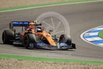 World © Octane Photographic Ltd. Formula 1 – German GP - Practice 1. McLaren MCL34 – Lando Norris. Hockenheimring, Hockenheim, Germany. Friday 26th July 2019.