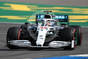 World © Octane Photographic Ltd. Formula 1 – German GP - Practice 1. Mercedes AMG Petronas Motorsport AMG F1 W10 EQ Power+ - Lewis Hamilton. Hockenheimring, Hockenheim, Germany. Friday 26th July 2019.