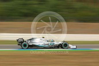World © Octane Photographic Ltd. Formula 1 – German GP - Practice 2. Mercedes AMG Petronas Motorsport AMG F1 W10 EQ Power+ - Valtteri Bottas. Hockenheimring, Hockenheim, Germany. Friday 26th July 2019.