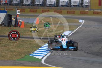 World © Octane Photographic Ltd. Formula 1 – German GP - Practice 2. ROKiT Williams Racing FW42 – Robert Kubica. Hockenheimring, Hockenheim, Germany. Friday 26th July 2019.