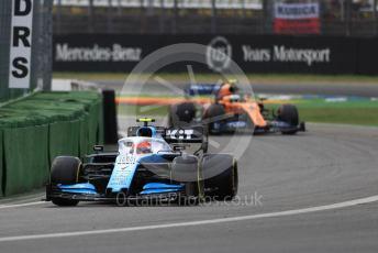 World © Octane Photographic Ltd. Formula 1 – German GP - Practice 3. ROKiT Williams Racing FW42 – Robert Kubica and McLaren MCL34 – Lando Norris. Hockenheimring, Hockenheim, Germany. Saturday 27th July 2019.
