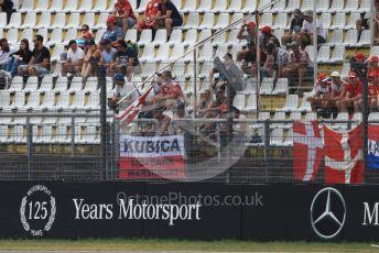 World © Octane Photographic Ltd. Formula 1 – German GP - Practice 3. ROKiT Williams Racing FW42 – Robert Kubica fans in the crowd. Hockenheimring, Hockenheim, Germany. Saturday 27th July 2019.