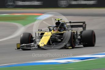World © Octane Photographic Ltd. Formula 1 – German GP - Practice 3. Renault Sport F1 Team RS19 – Nico Hulkenberg. Hockenheimring, Hockenheim, Germany. Saturday 27th July 2019.
