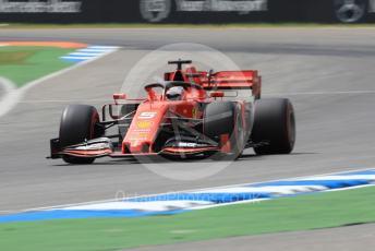 World © Octane Photographic Ltd. Formula 1 – German GP - Practice 3. Scuderia Ferrari SF90 – Sebastian Vettel. Hockenheimring, Hockenheim, Germany. Saturday 27th July 2019.