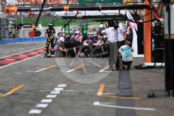 World © Octane Photographic Ltd. Formula 1 – German GP - Practice 3. SportPesa Racing Point RP19 – Lance Stroll. Hockenheimring, Hockenheim, Germany. Saturday 27th July 2019.