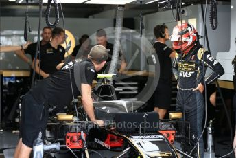 World © Octane Photographic Ltd. Formula 1 – German GP - Practice 3. Rich Energy Haas F1 Team VF19 – Kevin Magnussen. Hockenheimring, Hockenheim, Germany. Saturday 27th July 2019.