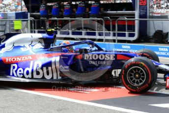 World © Octane Photographic Ltd. Formula 1 – German GP - Practice 3. Scuderia Toro Rosso STR14 – Alexander Albon. Hockenheimring, Hockenheim, Germany. Saturday 27th July 2019.