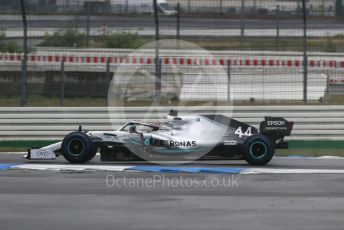 World © Octane Photographic Ltd. Formula 1 – German GP - Race. Mercedes AMG Petronas Motorsport AMG F1 W10 EQ Power+ - Lewis Hamilton. Hockenheimring, Hockenheim, Germany. Sunday 28th July 2019.