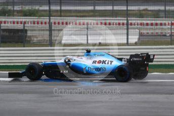 World © Octane Photographic Ltd. Formula 1 – German GP - Race. ROKiT Williams Racing FW 42 – George Russell. Hockenheimring, Hockenheim, Germany. Sunday 28th July 2019.