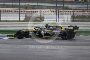 World © Octane Photographic Ltd. Formula 1 – German GP - Race. Renault Sport F1 Team RS19 – Daniel Ricciardo. Hockenheimring, Hockenheim, Germany. Sunday 28th July 2019.