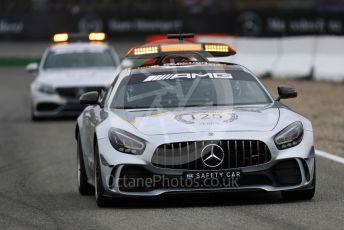 World © Octane Photographic Ltd. Formula 1 – German GP - Race. MercedesAMG GTs Safety Car and AMG E63 Medical Car. Hockenheimring, Hockenheim, Germany. Sunday 28th July 2019.