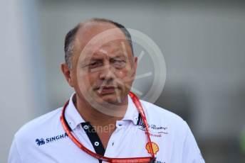 World © Octane Photographic Ltd. Formula 1 - German GP - Paddock. Frederic Vasseur – Team Principal and CEO of Sauber Motorsport AG. Hockenheimring, Hockenheim, Germany. Friday 26th July 2019.