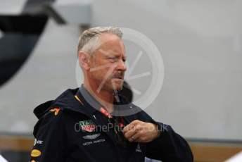World © Octane Photographic Ltd. Formula 1 - German GP - Paddock. Jonathan Wheatley - Team Manager of Red Bull Racing. Hockenheimring, Hockenheim, Germany. Sunday 28th July 2019.