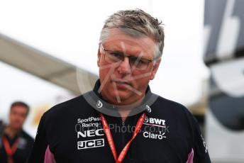 World © Octane Photographic Ltd. Formula 1 - German GP - Paddock. Otmar Szafnauer - Team Principal of SportPesa Racing Point. Hockenheimring, Hockenheim, Germany. Sunday 28th July 2019.
