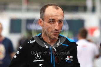 World © Octane Photographic Ltd. Formula 1 – German GP - Paddock. ROKiT Williams Racing FW42 – Robert Kubica. Hockenheimring, Hockenheim, Germany. Sunday 28th July 2019.