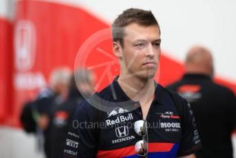 World © Octane Photographic Ltd. Formula 1 – German GP - Paddock. Scuderia Toro Rosso STR14 – Daniil Kvyat. Hockenheimring, Hockenheim, Germany. Sunday 28th July 2019.