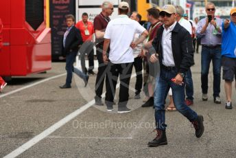 World © Octane Photographic Ltd. Formula 1 – German GP - Paddock. Mercedes AMG Petronas Motorsport AMG F1 W10 EQ Power+ - Valtteri Bottas. Hockenheimring, Hockenheim, Germany. Sunday 28th July 2019.