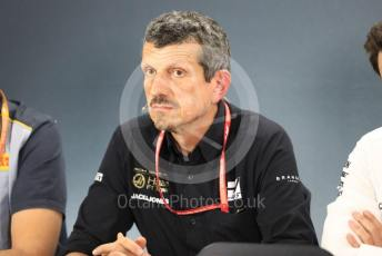 World © Octane Photographic Ltd. Formula 1 - German GP – Friday FIA Team Press Conference. Guenther Steiner - Team Principal of Rich Energy Haas F1 Team. Hockenheimring, Hockenheim, Germany. Friday 26th July 2019.