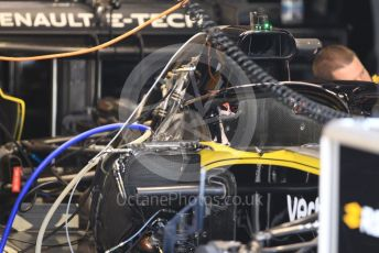 World © Octane Photographic Ltd. Formula 1 – German GP - Paddock. Renault Sport F1 Team RS19. Hockenheimring, Hockenheim, Germany. Thursday 25th July 2019.