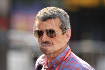 World © Octane Photographic Ltd. Formula 1 - German GP - Paddock. Guenther Steiner  - Team Principal of Rich Energy Haas F1 Team. Hockenheimring, Hockenheim, Germany. Thursday 25th July 2019.