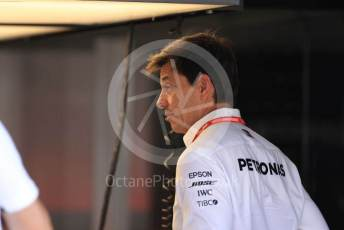 World © Octane Photographic Ltd. Formula 1 - German GP - Paddock. Toto Wolff - Executive Director & Head of Mercedes - Benz Motorsport. Hockenheimring, Hockenheim, Germany. Thursday 25th July 2019.