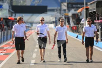 World © Octane Photographic Ltd. Formula 1 – German GP - Track Walk. McLaren MCL34 – Lando Norris. Hockenheimring, Hockenheim, Germany. Thursday 25th July 2019.