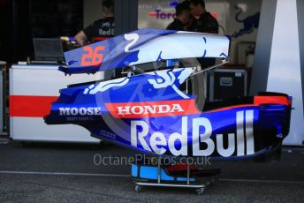 World © Octane Photographic Ltd. Formula 1 – German GP - Paddock. Scuderia Toro Rosso STR14. Hockenheimring, Hockenheim, Germany. Thursday 25th July 2019.