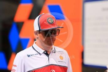 World © Octane Photographic Ltd. Formula 1 – German GP - Paddock. Alfa Romeo Racing C38 – Kimi Raikkonen. Hockenheimring, Hockenheim, Germany. Thursday 25th July 2019.
