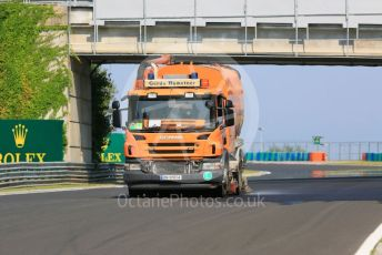 World © Octane Photographic Ltd. Formula 1 – Hungarian GP - Setup. Track washing. Hungaroring, Budapest, Hungary. Thursday 1st August 2019.