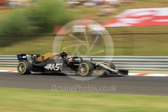 World © Octane Photographic Ltd. Formula 1 – Hungarian GP - Practice 1. Rich Energy Haas F1 Team VF19 – Kevin Magnussen. Hungaroring, Budapest, Hungary. Friday 2nd August 2019.