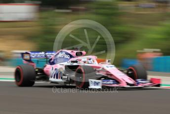 World © Octane Photographic Ltd. Formula 1 – Hungarian GP - Practice 1. SportPesa Racing Point RP19 - Sergio Perez. Hungaroring, Budapest, Hungary. Friday 2nd August 2019.
