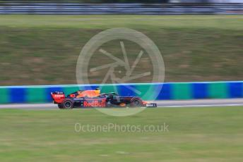 World © Octane Photographic Ltd. Formula 1 – Hungarian GP - Practice 1. Aston Martin Red Bull Racing RB15 – Pierre Gasly. Hungaroring, Budapest, Hungary. Friday 2nd August 2019.