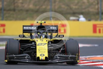 World © Octane Photographic Ltd. Formula 1 – Hungarian GP - Practice 1. Renault Sport F1 Team RS19 – Nico Hulkenberg. Hungaroring, Budapest, Hungary. Friday 2nd August 2019.