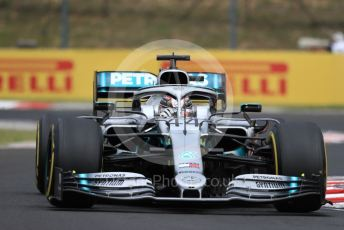 World © Octane Photographic Ltd. Formula 1 – Hungarian GP - Practice 1. Mercedes AMG Petronas Motorsport AMG F1 W10 EQ Power+ - Lewis Hamilton. Hungaroring, Budapest, Hungary. Friday 2nd August 2019.