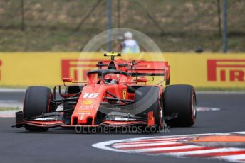 World © Octane Photographic Ltd. Formula 1 – Hungarian GP - Practice 1. Scuderia Ferrari SF90 – Charles Leclerc. Hungaroring, Budapest, Hungary. Friday 2nd August 2019.