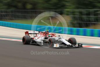 World © Octane Photographic Ltd. Formula 1 – Hungarian GP - Practice 2. Alfa Romeo Racing C38 – Antonio Giovinazzi. Hungaroring, Budapest, Hungary. Friday 2nd August 2019.