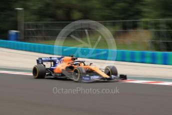 World © Octane Photographic Ltd. Formula 1 – Hungarian GP - Practice 2. McLaren MCL34 – Carlos Sainz. Hungaroring, Budapest, Hungary. Friday 2nd August 2019.