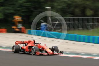 World © Octane Photographic Ltd. Formula 1 – Hungarian GP - Practice 2. Scuderia Ferrari SF90 – Sebastian Vettel. Hungaroring, Budapest, Hungary. Friday 2nd August 2019.
