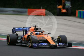 World © Octane Photographic Ltd. Formula 1 – Hungarian GP - Practice 2. McLaren MCL34 – Carlos Sainz. Hungaroring, Budapest, Hungary. Friday 2nd August 2019.