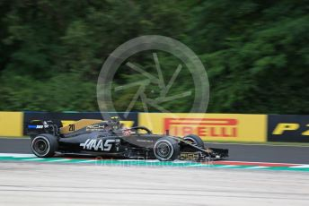 World © Octane Photographic Ltd. Formula 1 – Hungarian GP - Practice 2. Rich Energy Haas F1 Team VF19 – Kevin Magnussen. Hungaroring, Budapest, Hungary. Friday 2nd August 2019.