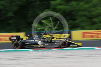 World © Octane Photographic Ltd. Formula 1 – Hungarian GP - Practice 2. Renault Sport F1 Team RS19 – Nico Hulkenberg. Hungaroring, Budapest, Hungary. Friday 2nd August 2019.