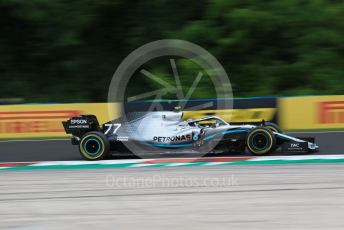World © Octane Photographic Ltd. Formula 1 – Hungarian GP - Practice 2. Mercedes AMG Petronas Motorsport AMG F1 W10 EQ Power+ - Valtteri Bottas. Hungaroring, Budapest, Hungary. Friday 2nd August 2019.