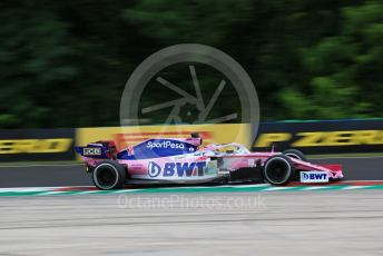 World © Octane Photographic Ltd. Formula 1 – Hungarian GP - Practice 2. SportPesa Racing Point RP19 - Sergio Perez. Hungaroring, Budapest, Hungary. Friday 2nd August 2019.