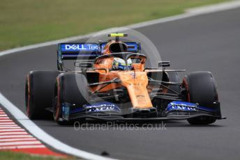World © Octane Photographic Ltd. Formula 1 – Hungarian GP - Practice 3. McLaren MCL34 – Lando Norris. Hungaroring, Budapest, Hungary. Saturday 3rd August 2019.