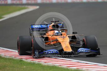 World © Octane Photographic Ltd. Formula 1 – Hungarian GP - Practice 3. McLaren MCL34 – Carlos Sainz. Hungaroring, Budapest, Hungary. Saturday 3rd August 2019.