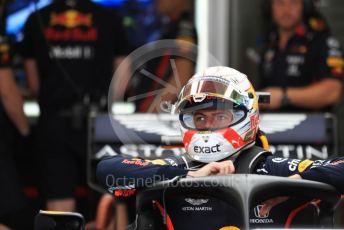 World © Octane Photographic Ltd. Formula 1 – Hungarian GP - Practice 3. Aston Martin Red Bull Racing RB15 – Max Verstappen. Hungaroring, Budapest, Hungary. Saturday 3rd August 2019.