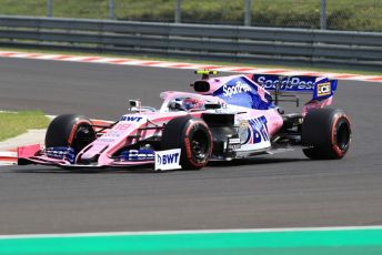 World © Octane Photographic Ltd. Formula 1 – Hungarian GP - Qualifying. SportPesa Racing Point RP19 – Lance Stroll. Hungaroring, Budapest, Hungary. Saturday 3rd August 2019.