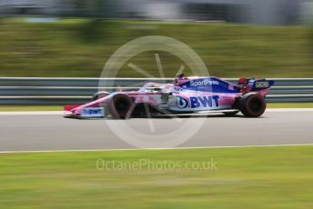 World © Octane Photographic Ltd. Formula 1 – Hungarian GP - Qualifying. SportPesa Racing Point RP19 - Sergio Perez. Hungaroring, Budapest, Hungary. Saturday 3rd August 2019.